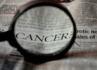 Cancer newspaper article