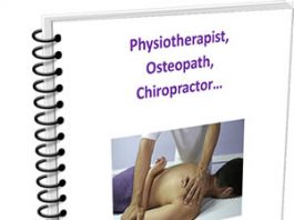 Physio / osteo / chiro guide cover