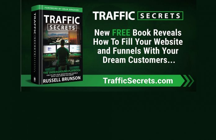 Traffic Secrets book by Russell Brunson