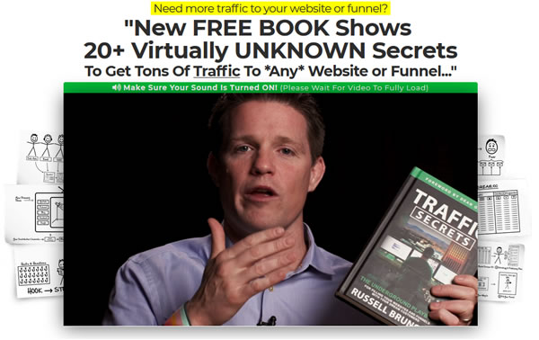 Traffic Secrets book - Russell's presentation